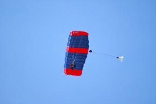 Tandem parachute springen