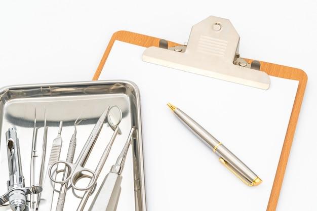 Tandheelkundige instrumenten en apparatuur