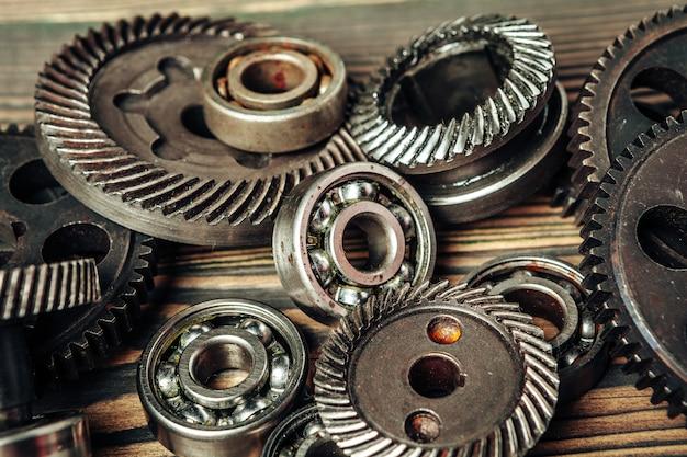 Tandwielen en lagers van auto-onderdelen