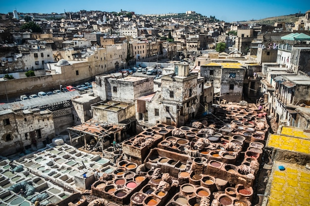 Tanners in fes