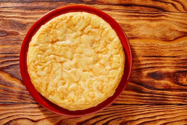 Tapas tortilla de patata aardappelen omelet