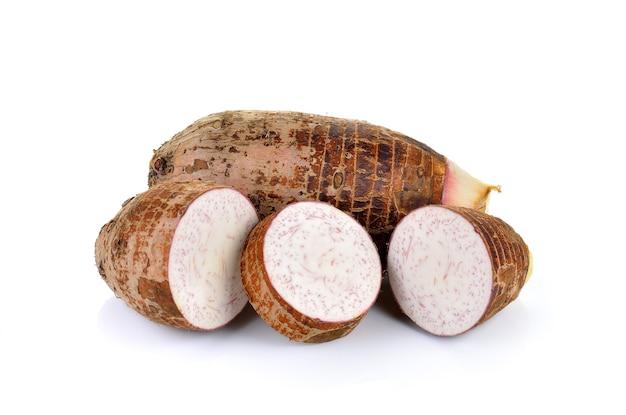 Taro op wit
