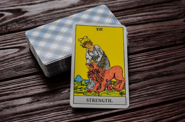 Tarotkaart: kracht