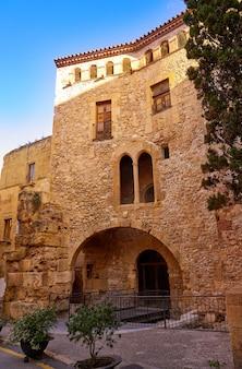 Tarragona volta del pallol in catalonië