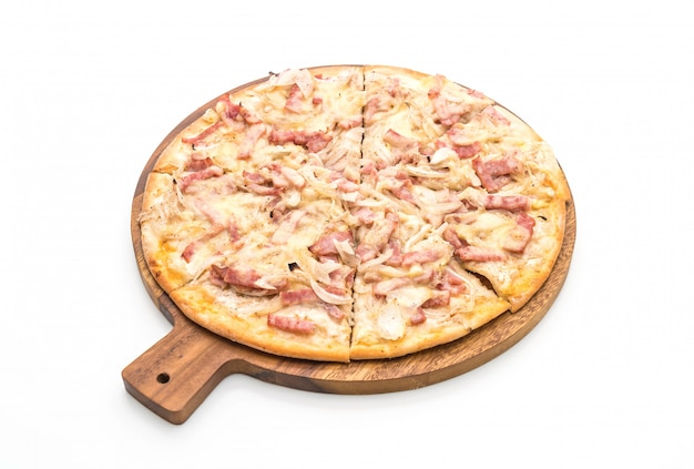 Tarte flambeerde pizza
