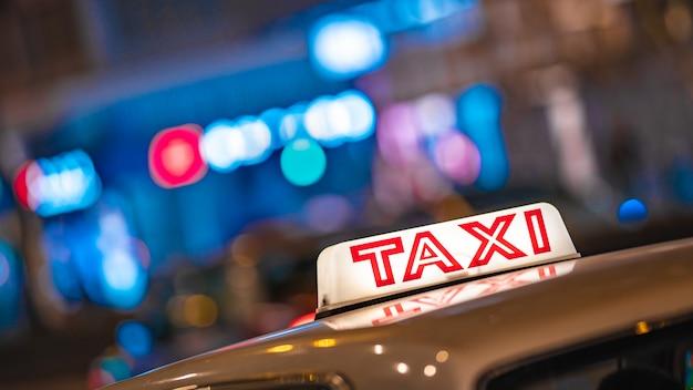 Taxi in hong kong