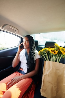 Taxi passagier