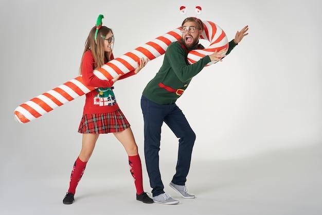 Te laat om te ontsnappen aan kerstmis