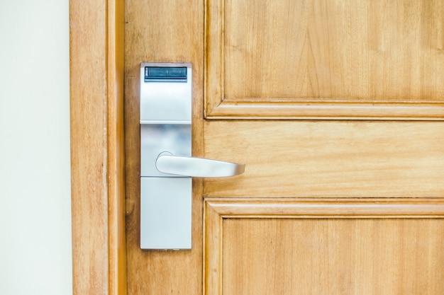 Teak lock bescherming van de woning-systeem