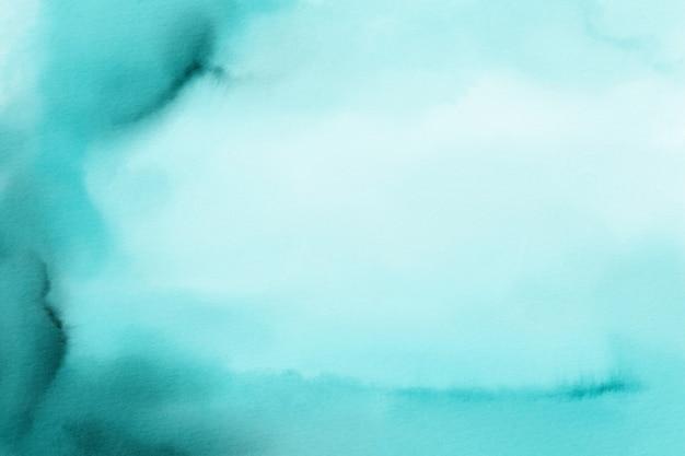 Teal aquarel achtergrond, digitaal papier, aquarel textuur