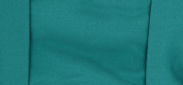 Teal groene stof textuur achtergrond