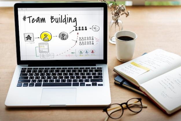 Teambuilding samenwerking ontwikkeling ondersteuning