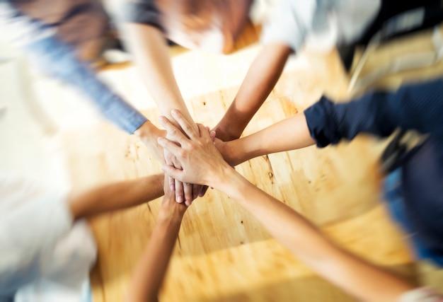 Teamwork concepten
