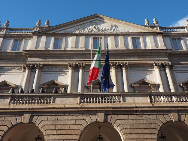 Teatro alla scala in milaan