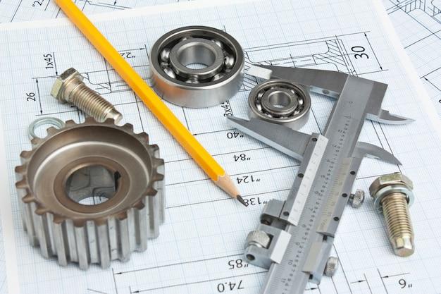 Technische tekening en gereedschappen
