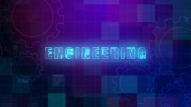 Technische tekst, technologie digitale gegevens futuristisch