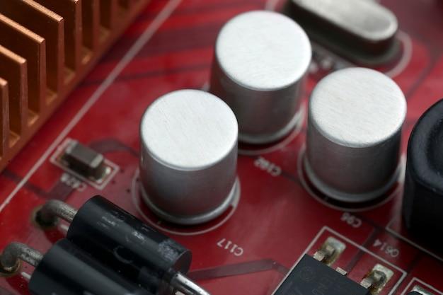 Technologie elektronisch computer moederbord