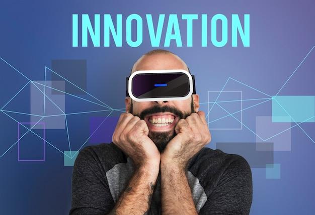 Technologie innovatie simulatie gadget concept
