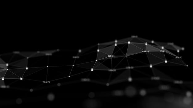 Technologische gegevens binaire code netwerk transport connectiviteit