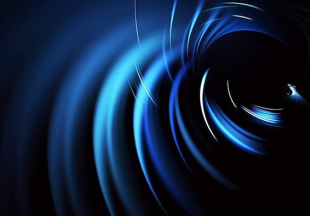 Technologische gestructureerde achtergrond. fractal afbeeldingen. wetenschap en technologie concept.