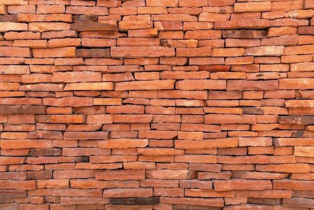 Tegels bakstenen muur achtergrond. textuur en materiaalconcept. structuur thema