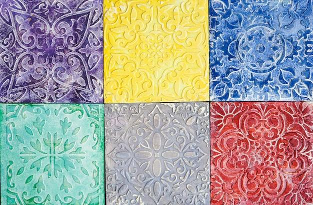 Tegels in moorse stijl