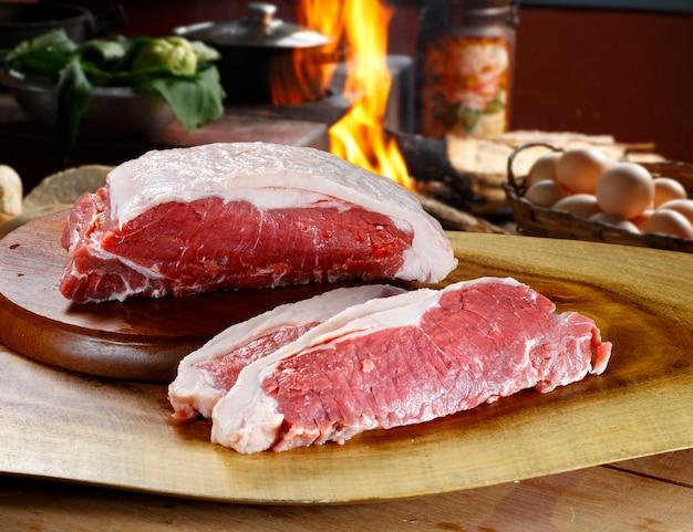 Tegen rauwe biefstuk