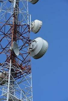 Telecommunicatietoren met antennes.