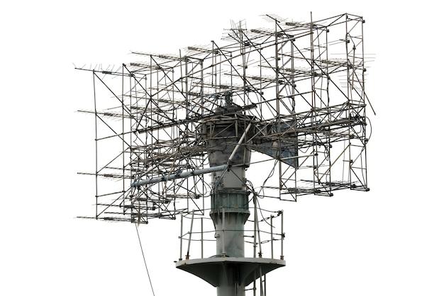 Telecommunicatietorenantenne bij zonsondergang.