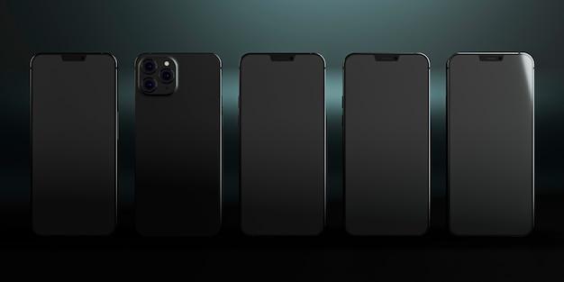 Telefoon ontwerpt nieuw telefoonconcept