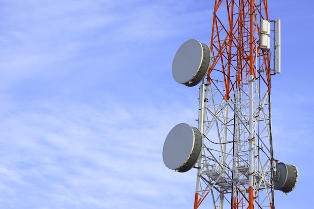 Telefoon paal technologie mobiele telefoon netwerk basisstation telecommunicatie toren