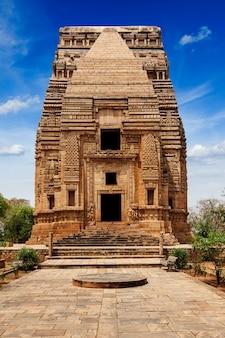 Teli ka mandir hindoetempel in het fort van gwalior