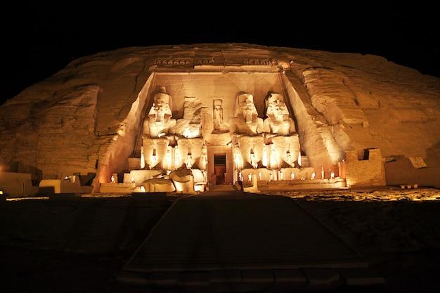 Tempel in abu simbel, egypte