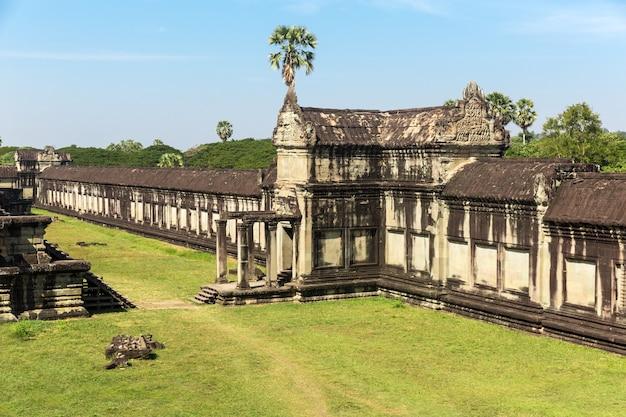 Tempel in angkor thom cambodja