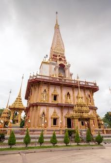 Tempel in pai, thailand