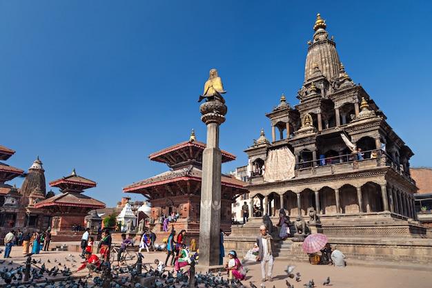 Tempel op durbar-plein