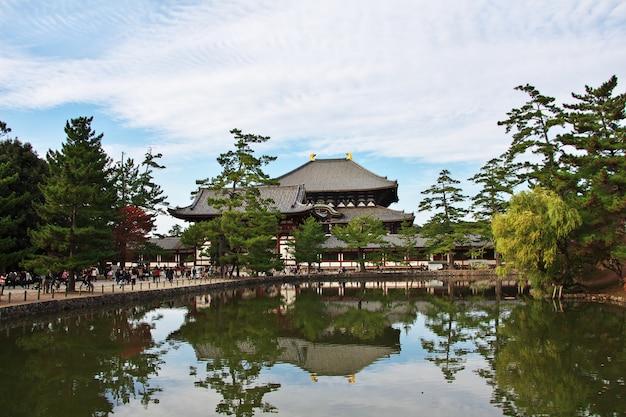 Tempel todai-ji in nara, japan