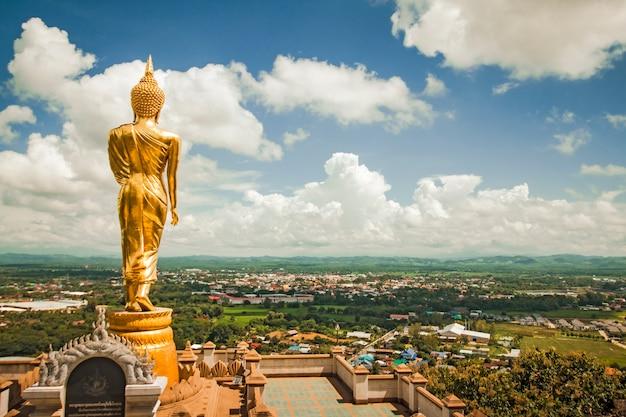 Tempel uitzicht vanuit het noorden van thailand