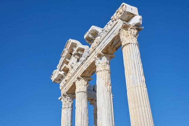 Tempel van apollo-landschap