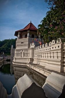 Tempel van de tand relikwie. sri lanka