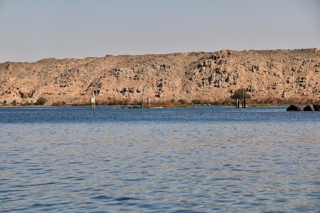 Tempel van isis op het eiland philae, egypte
