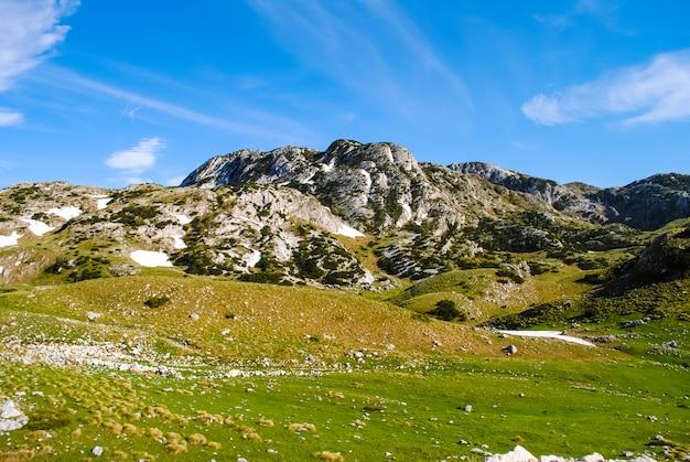 Ten noorden van montenegro, het grondgebied van het reservaat zabljak