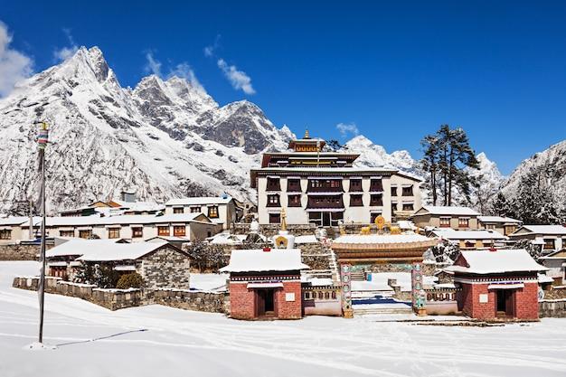 Tengboche-klooster, nepal