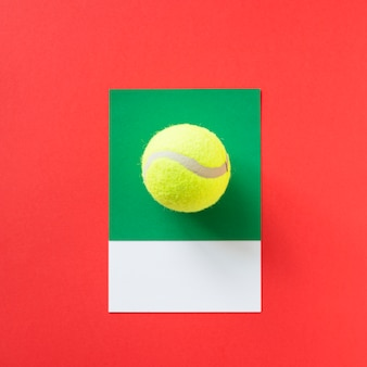 Tennis sport bal speelgoed object