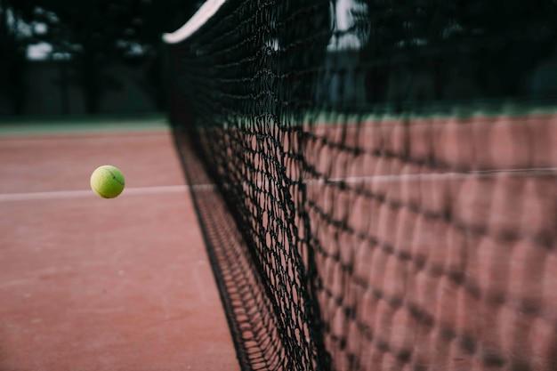 Tennisbal net berekend