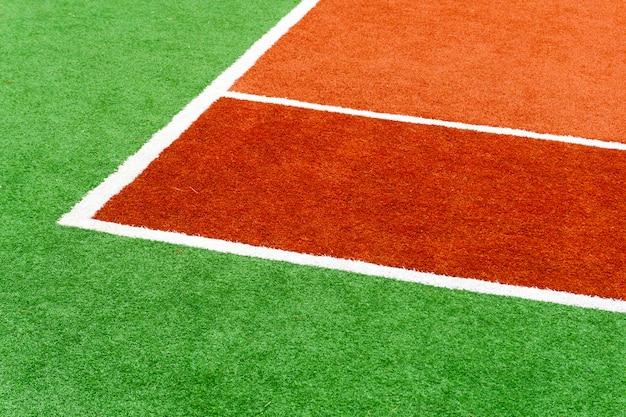 Tennisdekking kleurensportveld.