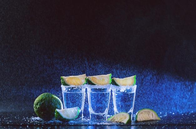 Tequilla met limoenen