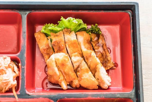 Teriyaki chicken bento set