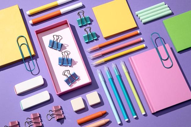 Terug naar school concept arrangement