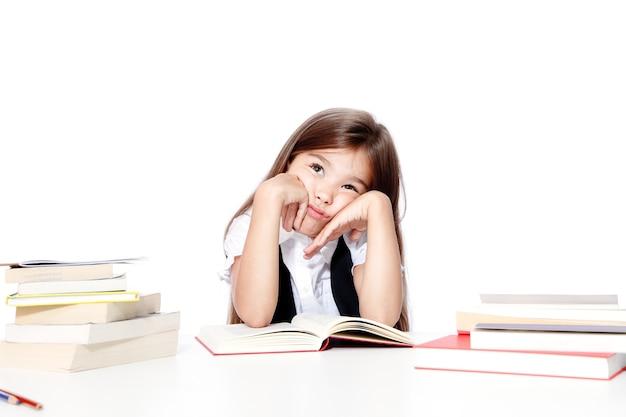 Terug naar school! concept van onderwijs, lezen en leren.